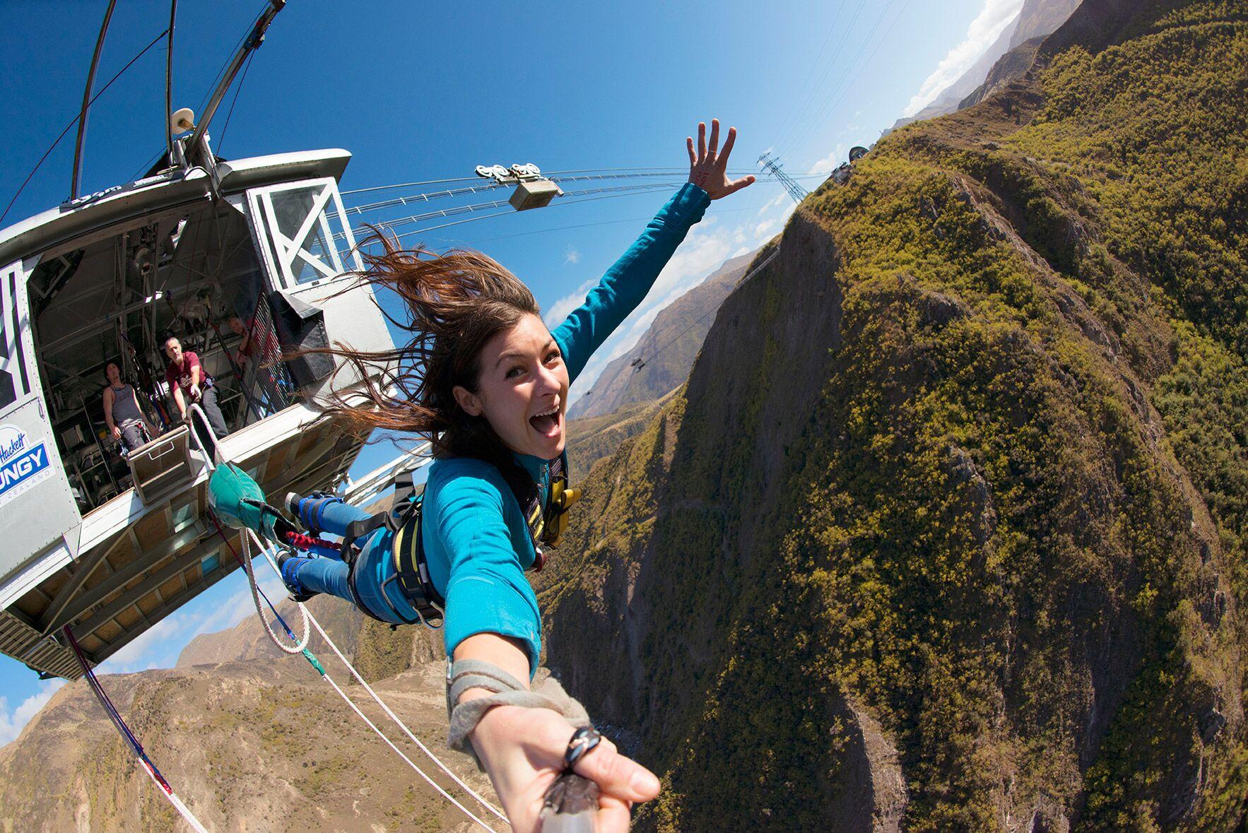 Nossas principais atividades de aventura da 5 Nova Zelândia