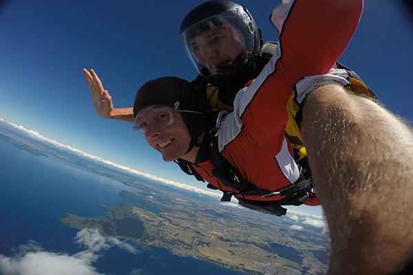 A melhor aventura: Skydiving Nova Zelândia