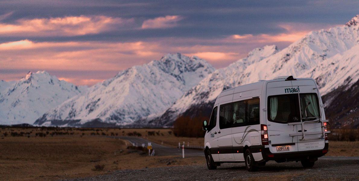 Uma lista dos melhores parques de campismo motorizados da Nova Zelândia