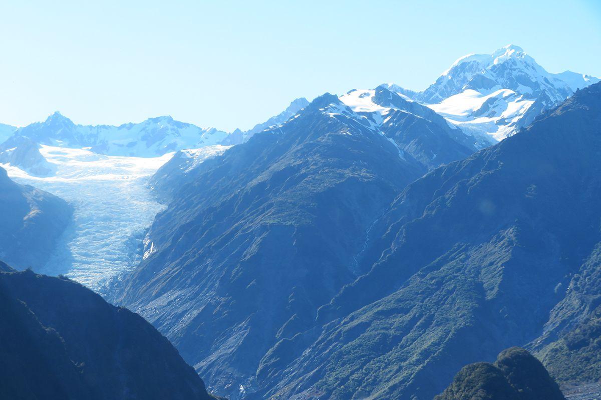 フォックス氷河で2日間