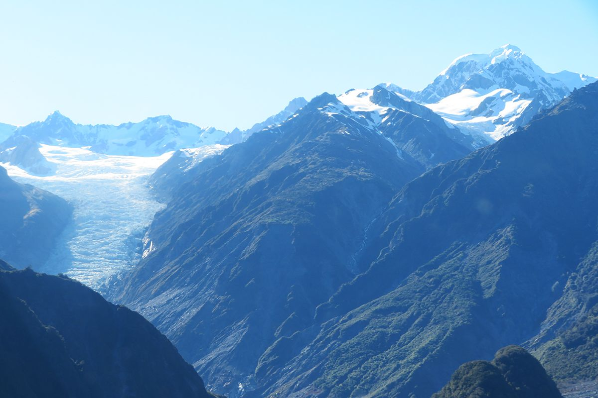 Dois dias em Fox Glacier