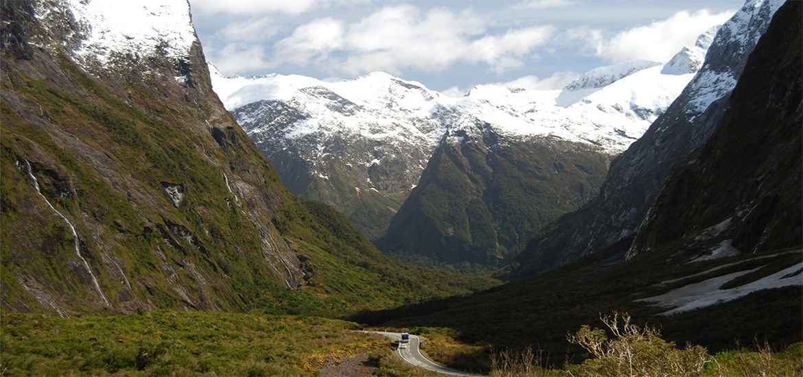 Along the Milford Road