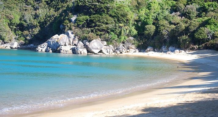 O paraíso costeiro do Parque Nacional Abel Tasman