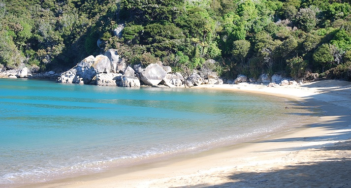 The coastal paradise of Abel Tasman National Park