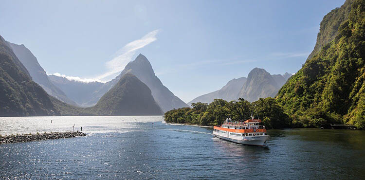 Cruzeiro Milford Sound (de Queenstown)