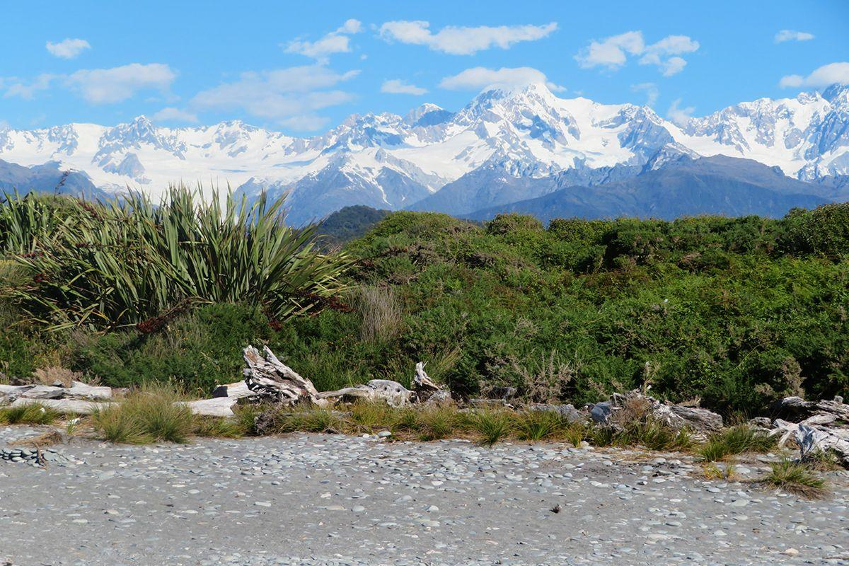 Gillespies Beach near Fox Glacier