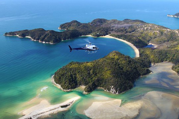 Abel Tasman National Park Heli Flight