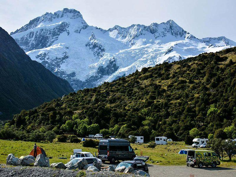 White Horse Hill Campground Aoraki Mt Cook