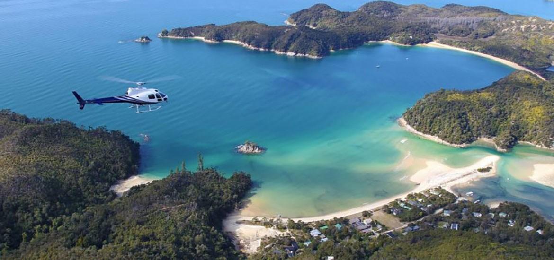 Flüge Nelson Tasman Heli - Abel Tasman Experience