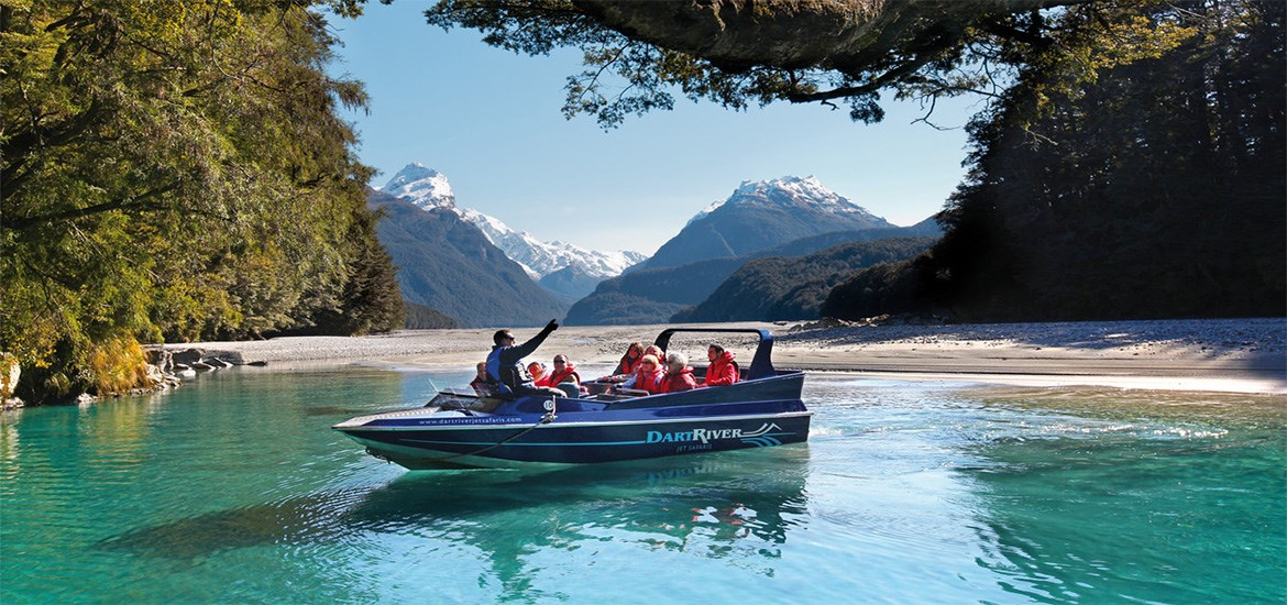 Dart River Wilderness Jet (Glenorchy)