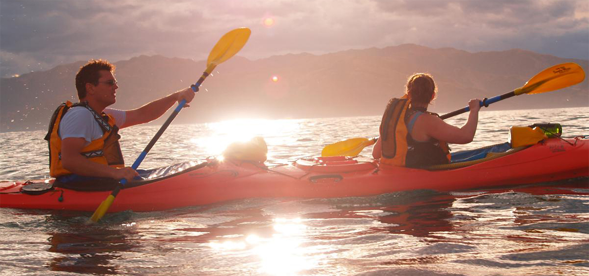 Kaikoura Kayaks Sunset Evening Classic