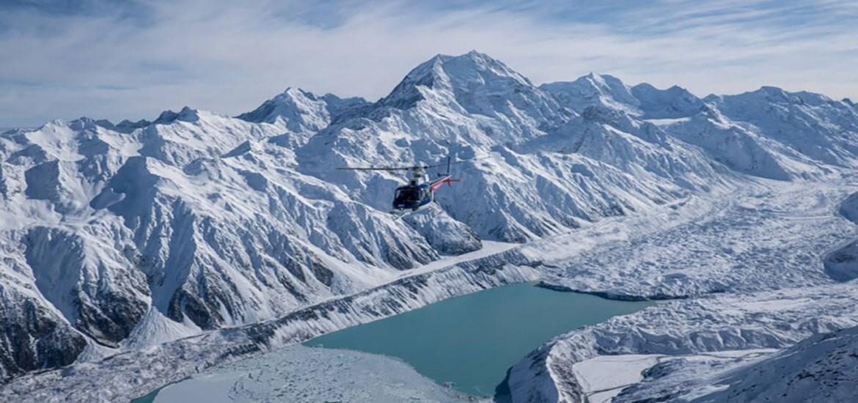Mt. Cook Heli Flight - Entdeckung
