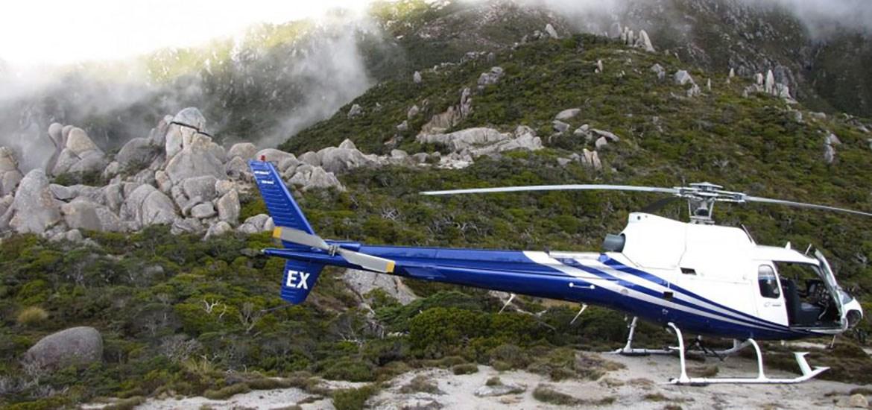 Flüge Nelson Tasman Heli - LOTR Mt. Olympus