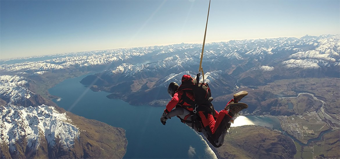 Skydive Queenstown 12,000 ft