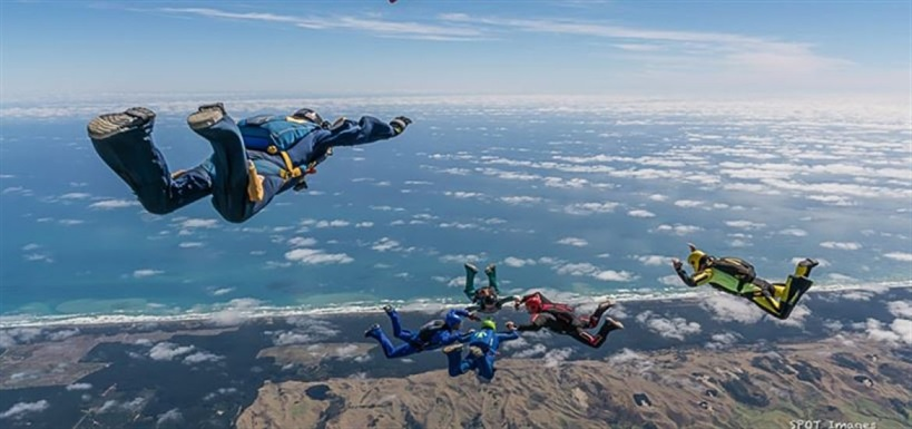 Skydive Auckland 13,000 ft