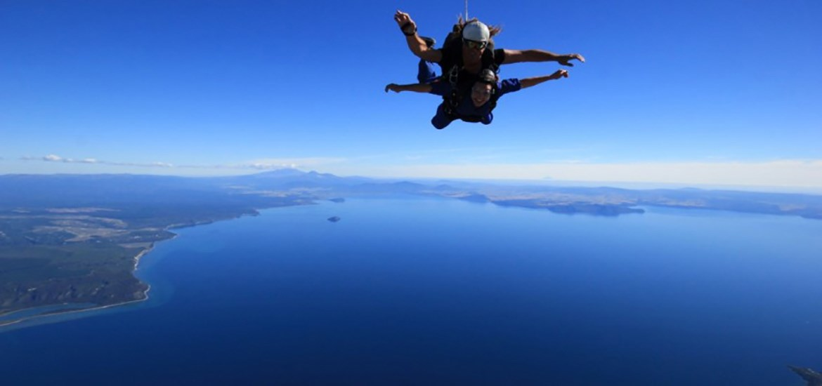 Skydive Taupo 12,000 ft