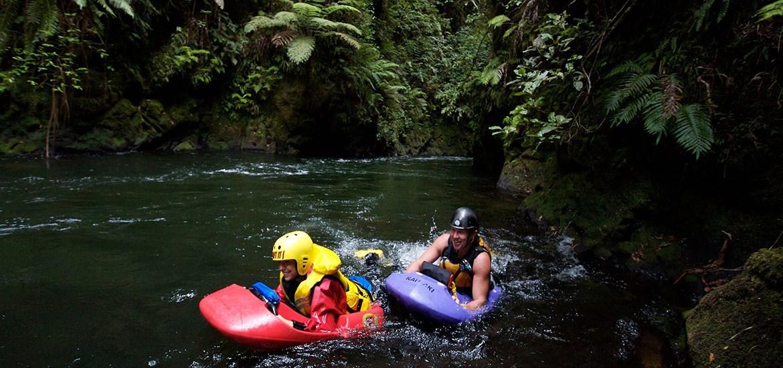 Rodeln Rotorua