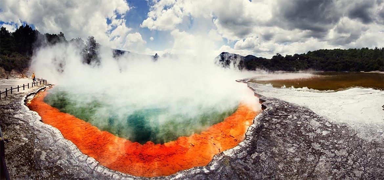 Wonderland geotermico di Wai-O-Tapu