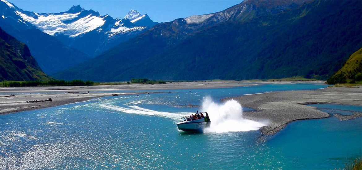 Mt Aspiring NP Jet Boat and Wilderness Walk