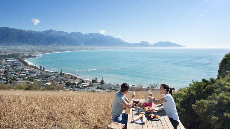 Kaikoura Peninsula view