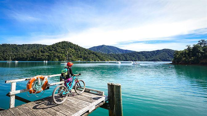 Queen Charlotte Track biking