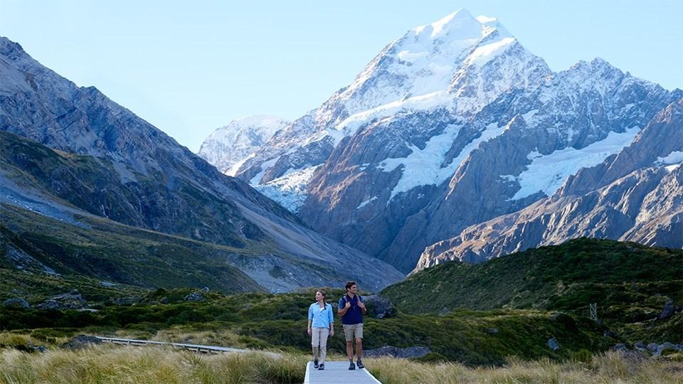 Hooker Valley Mt Cook National Park