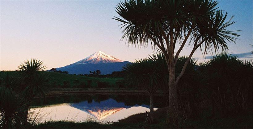 Mt Taranaki reflection