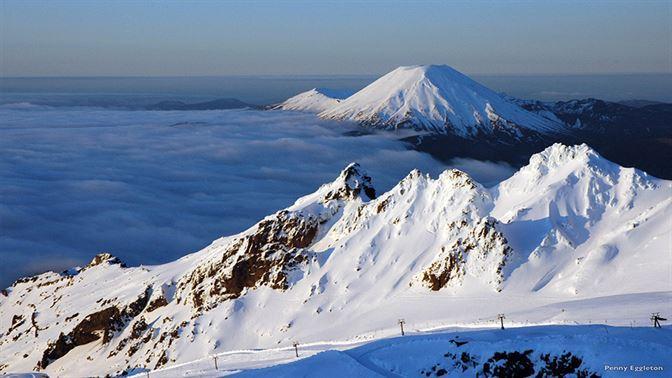 Mt Ruapehu Tongariro National Park