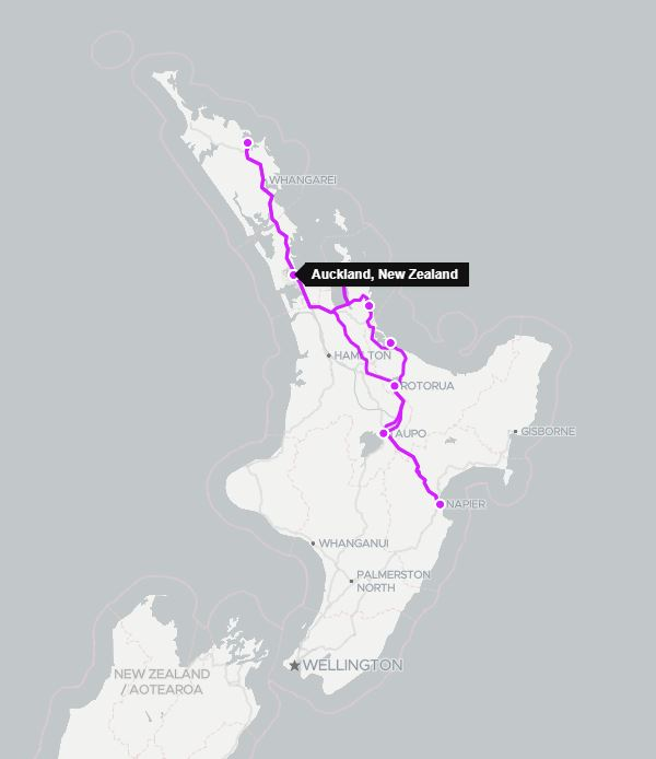12 Day North Island Honeymoon Self Drive Tour