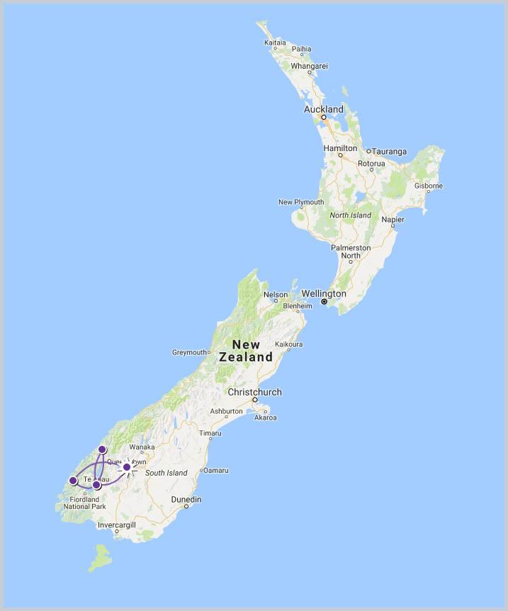 Fiordland Soul Food Tour