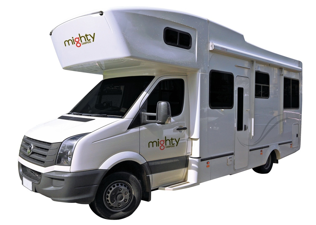 Mighty Big Six 6 Berth camper