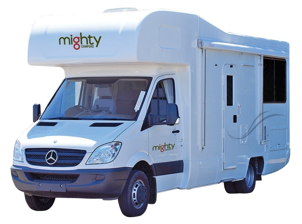 Mighty Double up 4 berth camper