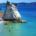 cathedral cove kayaking