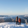 Cardrona Alpine Resort Friends looking at view lowres